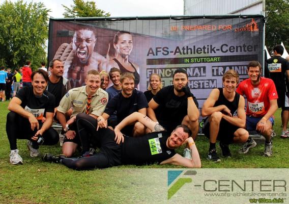 Das Team des AFS-Athletik-Centers Stuttgart bei Tough Mudder Süddeutschland