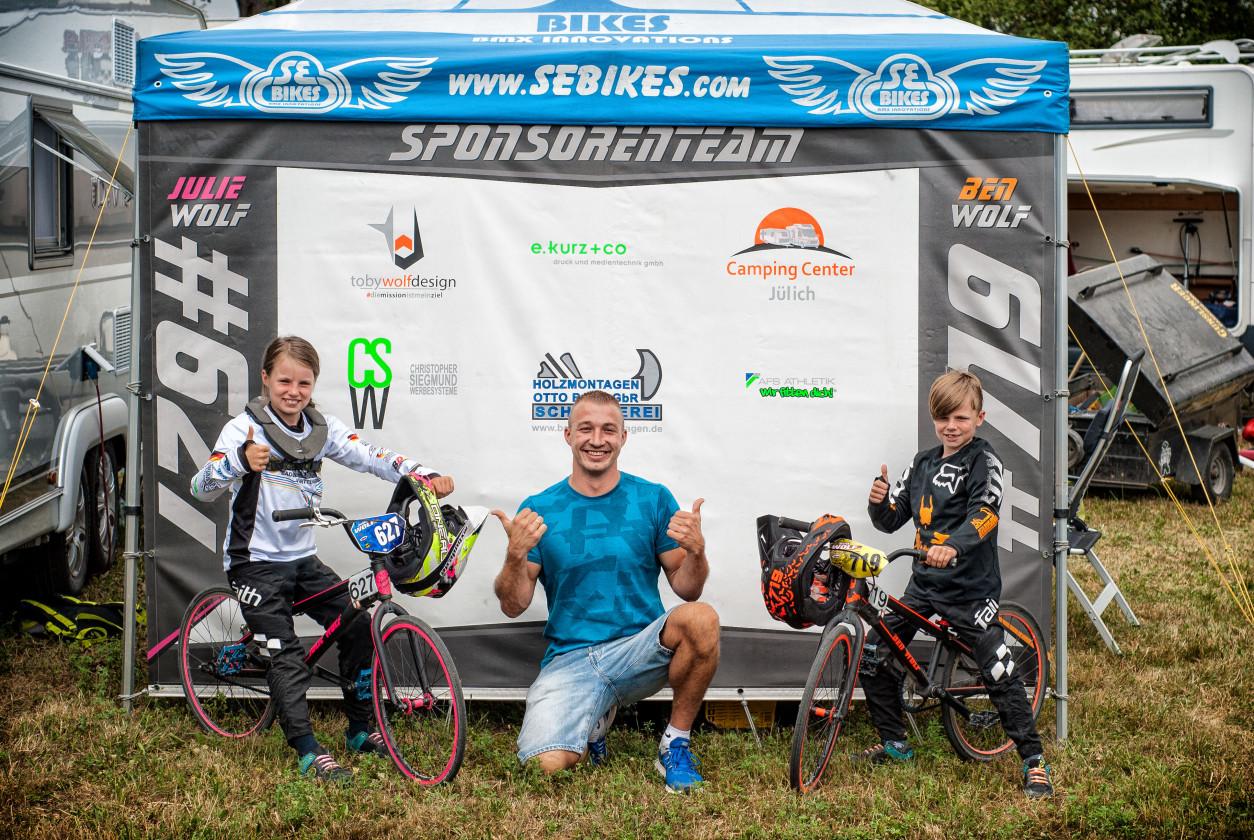 BMX Race Training in Stuttgart