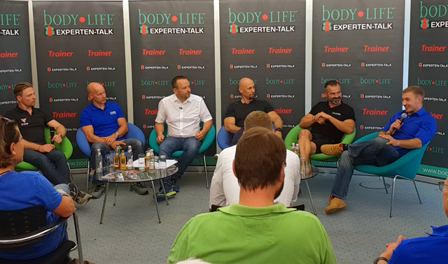 Coach Thomas Wolf beim Bodylife Expertentalk in Ettlingen